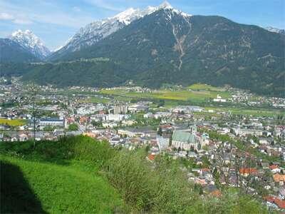 Austria  Schwaz_aerien