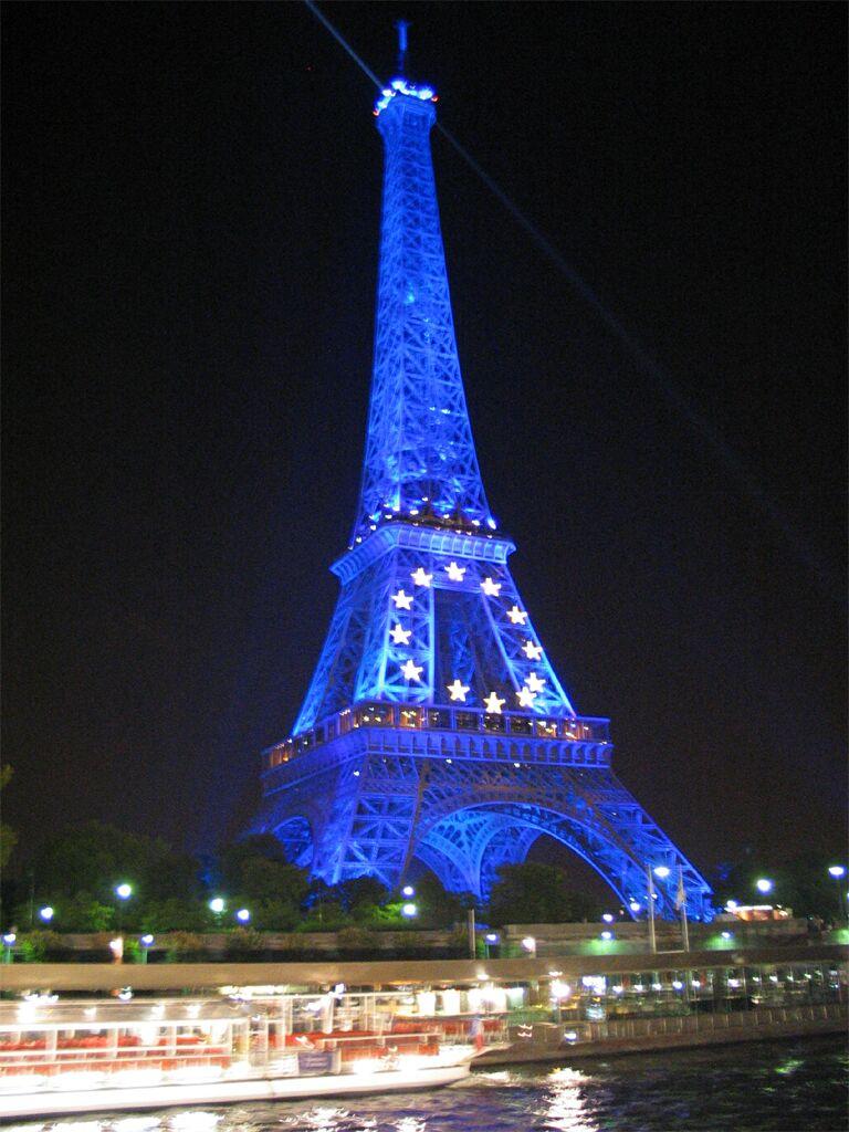Photo France Paris La Tour Eiffel Nuit