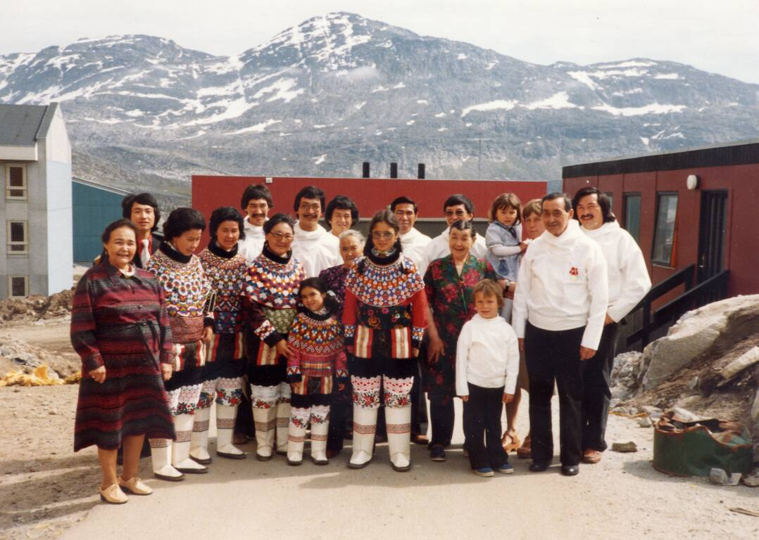 greenland traditional clothing north america culture pinterest