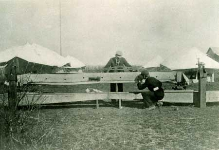 The first flight into the air happened right in North Carolina. The Wright