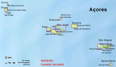 A Country Named Portugal Os Herois Do Mar Islands Azores And - Map portugal madeira azores