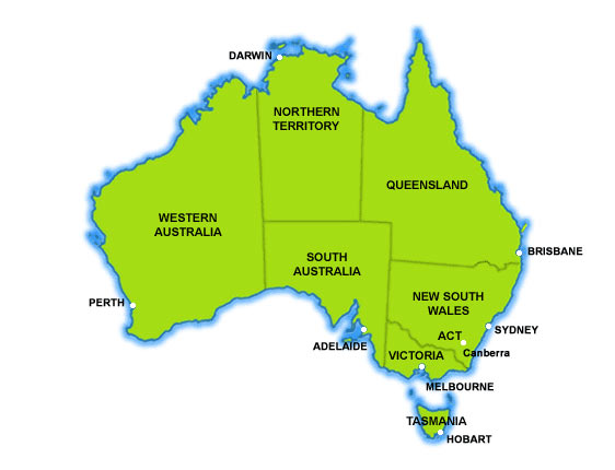 Australia is 1 Contonent
