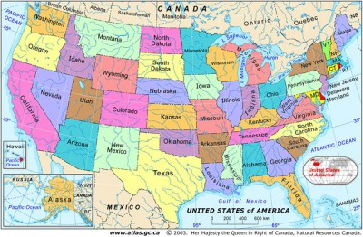 Geography North America Lessons Tes Teach - Is united states north america