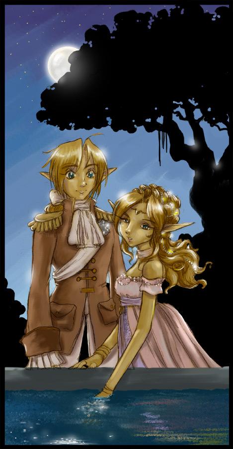 link et zelda version bal cest p mignon a - Link Et Zelda