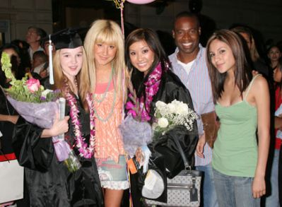 Ashley at Brenda's and Kay's Gradua.. Others - Ashley Tisdale