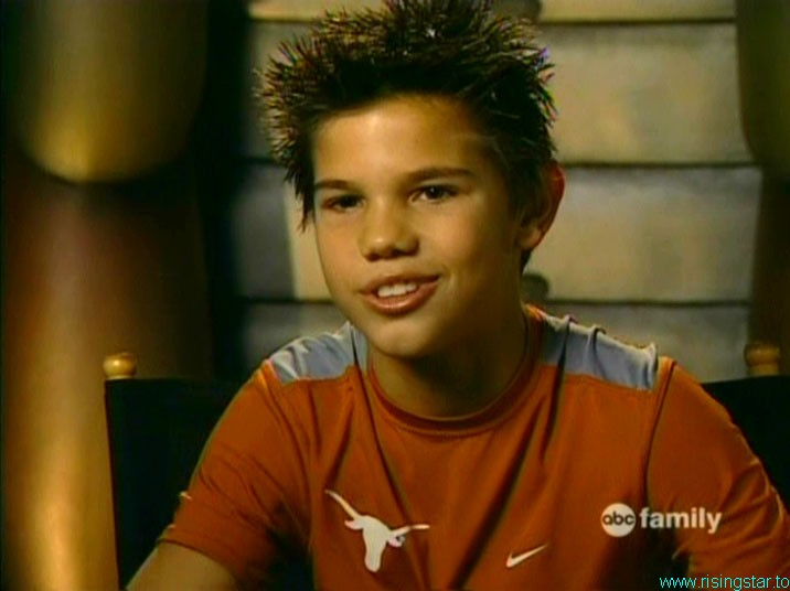 Taylor Lautner is he played sharkboy